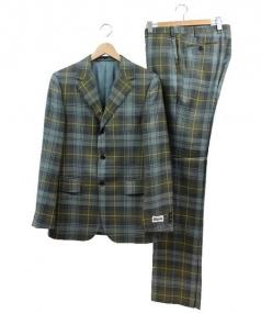 NIGOLD(ニゴールド)の古着「セットアップスーツ」|グリーン