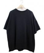 REPRESENT(リプレゼント)の古着「半袖ビックスウェット」|ブラック