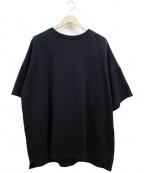 REPRESENT(リプレゼント)の古着「半袖ビックスウェット」 ブラック