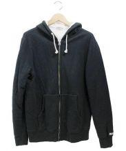 COOTIE PRODUCTIONS(クーティー プロダクツ)の古着「ジップパーカー」 ブラック