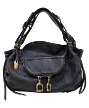 TOFF&LOADSTONE(トフ&ロードストーン)の古着「ハンドバッグ」|ブラック