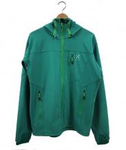 HAGLOFS(ホグロフス)の古着「フーデッドジャケット」 グリーン