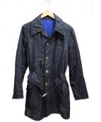 CRUCE&Co(クルーチェ アンド コー)の古着「コート」 チャコールグレー