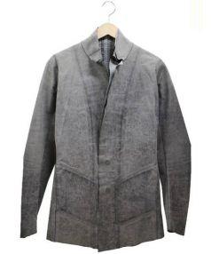 Isaac Sellam Experience(アイザック・セラム・エクスペリエンス)の古着「レザージャケット」|グレー