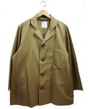 A.FOUR(エー.フォー)の古着「シャツジャケット」|ベージュ