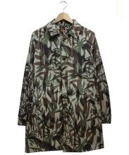 ASPESI(アスペジ)の古着「カモフラナイロンコート」|グリーン