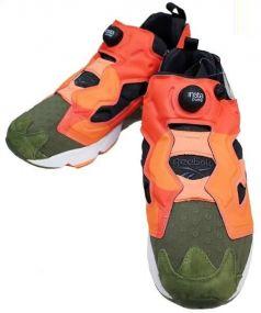 Reebok(リーボック)の古着「ローカットスニーカー」|オレンジ