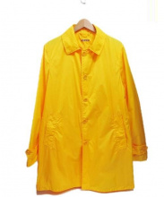ASPESI(アスペジ)の古着「ナイロンステンカラーコート」|イエロー