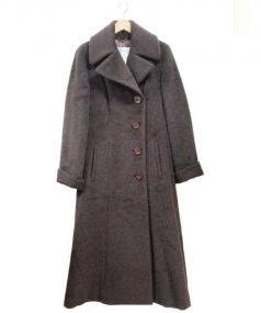MaxMara(マックスマーラ)の古着「オーバーコート」 ブラウン