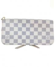 LOUIS VUITTON(ルイ・ヴィトン)の古着「長財布」|ホワイト×グレー