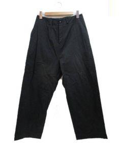 Y's(ワイズ)の古着「ワイドパンツ」 ブラック