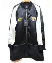 VIRGO×MACKDADDY(ヴァルゴ×マックダディ)の古着「Long souvenir jkt」|ホワイト×ブラック