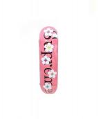 Supreme(シュプリーム)の古着「Flower Skateboard /スケートボード」|ピンク×ブラック