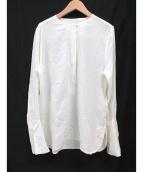 EQUIPMENT(エキップモン)の古着「シルクブラウス」|ホワイト