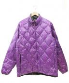 BURTON(バートン)の古着「キルティングジャケット」|パープル