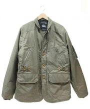 STUSSY(ステューシー)の古着「ミリタリージャケット」|グリーン