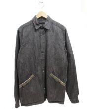 FRANK LEDER(フランクリーダー)の古着「デニムカバーオール」|グレー