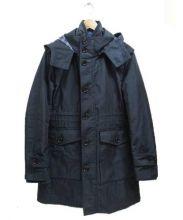 BLACK LABEL CRESTBRIDGE(ブラックレーベル・クレストブリッジ)の古着「ライナー付フーデッドコート」|ネイビー