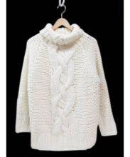 AMERI(アメリ)の古着「タートルネックニット」|ホワイト