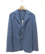 BOGLIOLI(ボリオリ)の古着「ウールアンコンジャケット」|ブルー