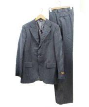 Wild Life Tailor(ワイルド ライフ テイラー)の古着「3Bスーツ」|グレー×ブラック