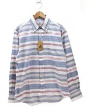 BLACK FLEECE BY Brooks Brothers(ブラック フリース バイ ブルックス ブラザーズ)の古着「ボタンダウンシャツ」|スカイブルー×ホワイト