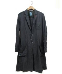 GUILD PRIME(ギルドプライム)の古着「チェスターコート」|ブラック