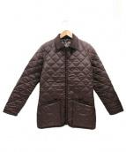 LAVENHAM(ラベンハム)の古着「ライナー付キルティングジャケット」 ブラウン
