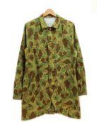 ETERNAL(エターナル)の古着「ハンターコート」|ブラウン×グリーン