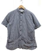 EEL(イール)の古着「サンデーシャツ」|ホワイト×ブラック