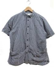 EEL(イール)の古着「サンデーシャツ」 ホワイト×ブラック
