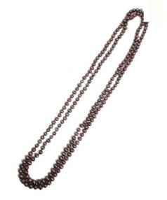 Le Collier(ル コリエ)の古着「パールネックレス」|ブラウン
