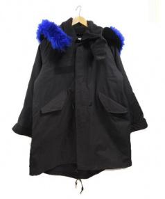 UNDERCOVER(アンダーカバー)の古着「中綿モッズコート」|ブラック