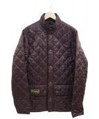 Belstaff(ベルスタッフ)の古着「キルティングジャケット」|ブラウン