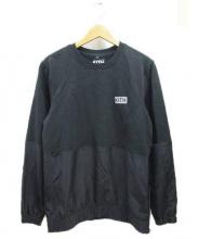 KITH(キス)の古着「スリーブ切替スウェット」 ブラック