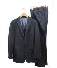 BURBERRY BLACK LABEL(バーバリーブラックレーベル)の古着「3ピース2Bスーツ」|ブラック