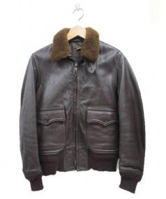 THE REAL McCOYS(ザ・リアルマッコイズ)の古着「フライトジャケット」|ブラウン