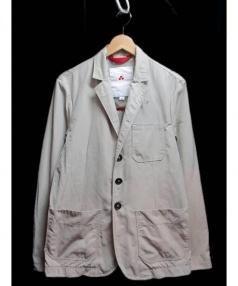 PEUTEREY(ピューテリー)の古着「ナイロンジャケット」 ベージュ