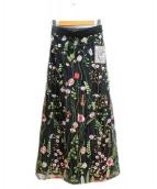 Ameri VINTAGE(アメリ ヴィンテージ)の古着「ロングスカート」 ブラック