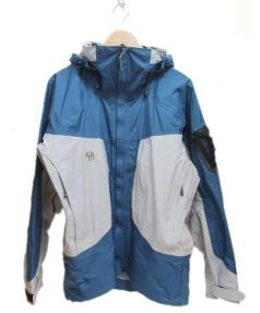 MOUNTAIN HARD WEAR(マウンテン ハード ウェア)の古着「マウンテンパーカー」|ブルー×グレー