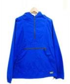L.L.BEAN(エルエルビーン)の古着「アノラックパーカー」|ブルー