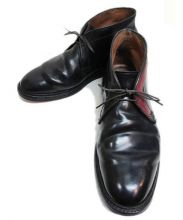 ALDEN(オールデン)の古着「チャッカーブーツ」|ブラック