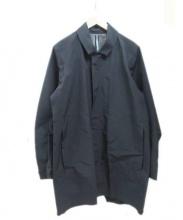 ARCTERYX VEILANCE(アークテリクス ヴェイランス)の古着「ステンカラーコート」|ブラック