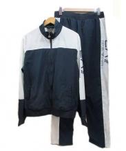 EMPORIO ARMANI(エンポリオアルマーニ)の古着「セットアップジャージ」|ネイビー×ホワイト