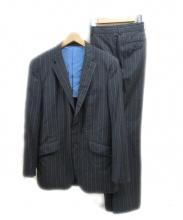 Paul Smith(ポールスミス)の古着「セットアップスーツ」|ブラック×ブルー