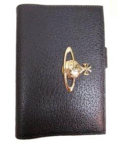 Vivienne Westwood(ヴィヴィアンウエストウッド)の古着「レザー手帳カバー」|ブラウン