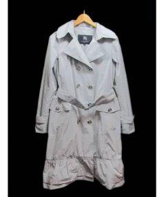 BURBERRY LONDON(バーバリーロンドン)の古着「トレンチコート」|ライトグレー