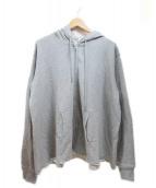 COMME des GARCONS SHIRT BOYS(コムデギャルソンシャツボーイズ)の古着「ジップパーカー」|グレー