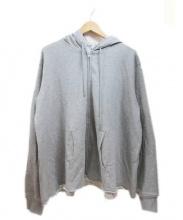 COMME des GARCONS SHIRT BOYS(コムデギャルソンシャツボーイズ)の古着「ジップパーカー」 グレー