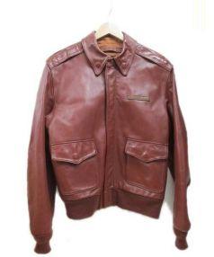 AVIREX(アヴィレックス)の古着「A-2フライトジャケット」|ブラウン
